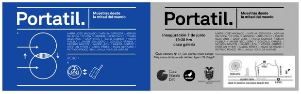 Portátil I Muestras desde la mitad del mundo - .Arte emergente ecuatoriano