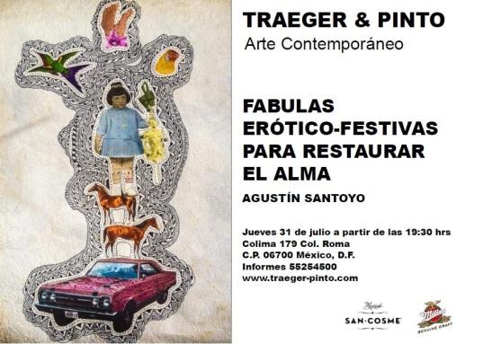 Traeger & Pinto - FABULAS ERÓTICO-FESTIVAS  Santoyo