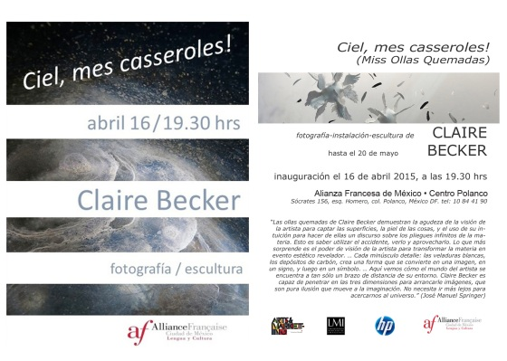 Claire Becker - Ciel, mes casseroles