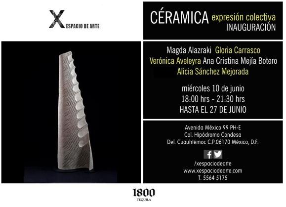 X Espacio de arte - Ceramica - Black