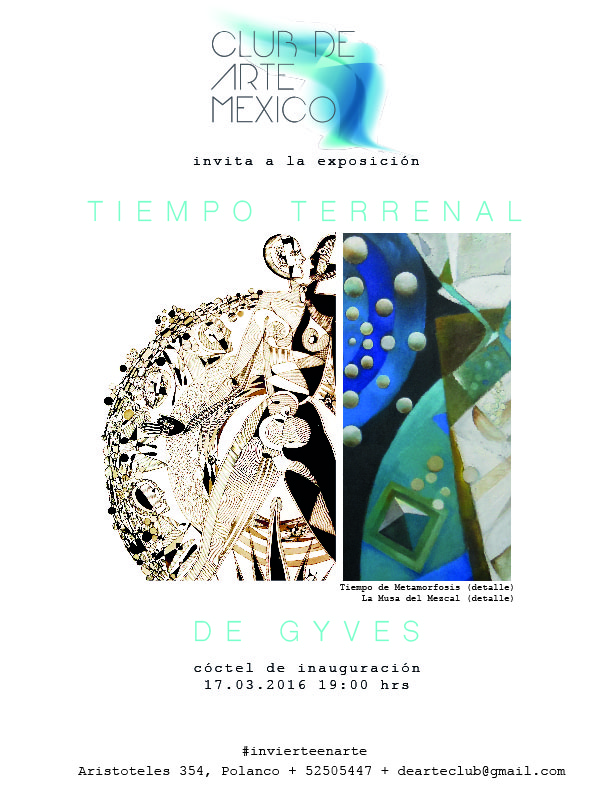 Club de Arte Mexico - GASTÓN DE GYVES Tiempo Terrenal.jpg